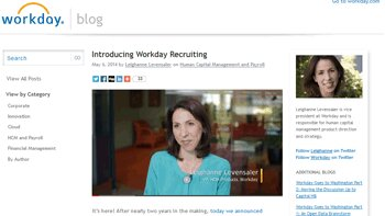 Workday lance une application mobile dédiée au recrutement - D.R.