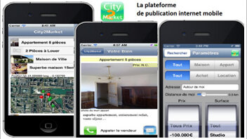City2Market: une nouvelle application pour géolocaliser les biens - © D.R.
