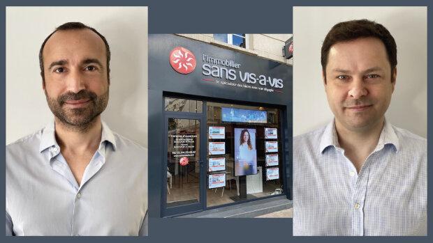 Cédric Jullien et Arnaud Jorel, les cofondateurs de la nouvelle franchise - © D.R.