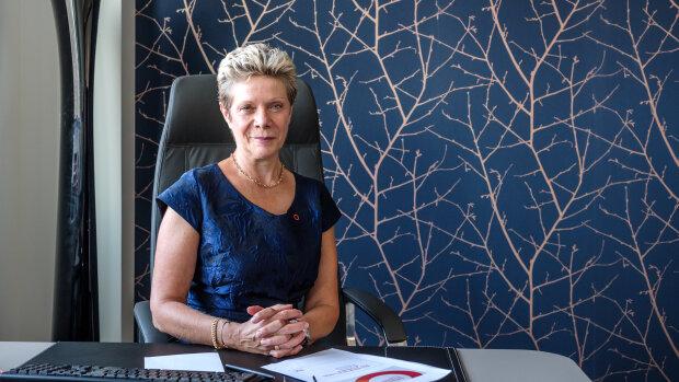 Après quatre ans à la présidence d'Orpi, Christine Fumugalli tirera sa révérence le 31 décembre 2021 - © Xavier Hacquard