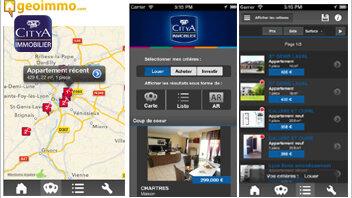 25 000 téléchargements pour la nouvelle application de Citya Immobilier - D.R.