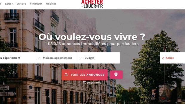 Acheter-louer.fr surfe sur la vague du «mobile first» - © D.R.