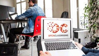 La plateforme de cours en ligne OpenClassrooms s'ouvre aux entreprises - © D.R.