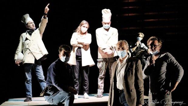 Le Théâtre de la Ville (Paris) maintient ses directs en ligne après la réouverture des salles. - © Agathe Poupeney