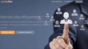 Scoring-Line: une nouvelle solution qui optimise la présélection de candidats en ligne - D.R.