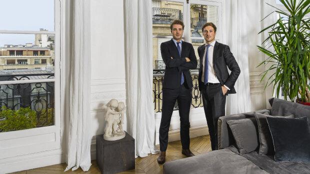 Loïc Forneri et Adrien Helle, co-fondateurs de Vendmy