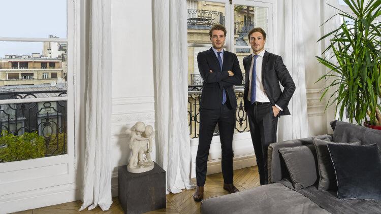 Loïc Forneri et Adrien Helle, co-fondateurs de Vendmy - DR