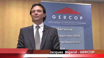 4 min 30 avec Jacques Bigand, président de Gercop - D.R.