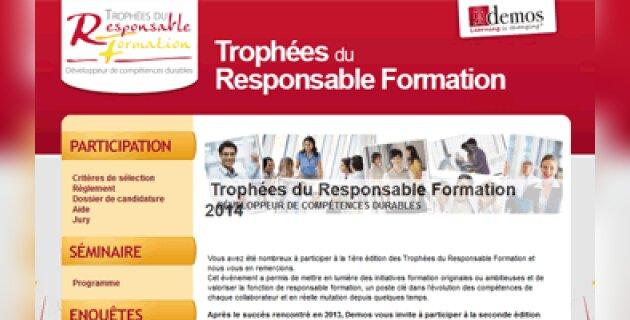 Trophées du responsable formation: à vos candidatures! - D.R.