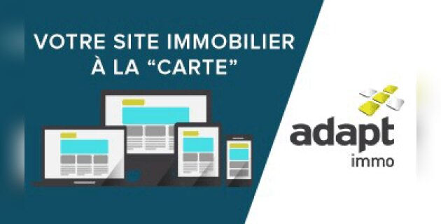 Adapt immo se distingue avec une offre pointue de sites web immobiliers ultra performants - D.R.