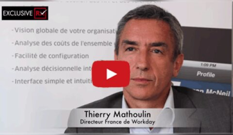3 min avec Thierry Mathoulin, Directeur France de Workday