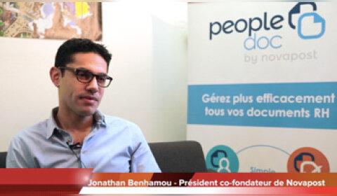 4 min 30 avec Jonathan Benhamou, co-fondateur de Novapost