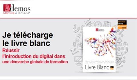 Demos publie un livre blanc sur le digital learning