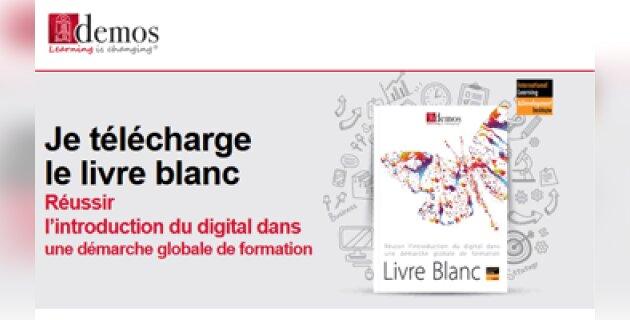 Demos publie un livre blanc sur le digital learning - D.R.