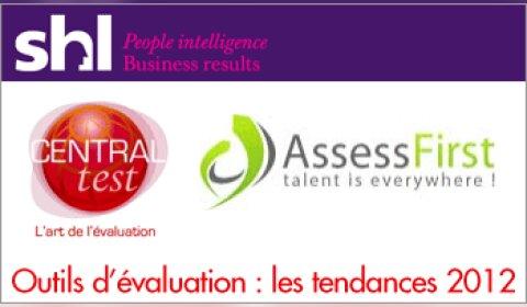 Outils d'évaluation : les tendances 2012