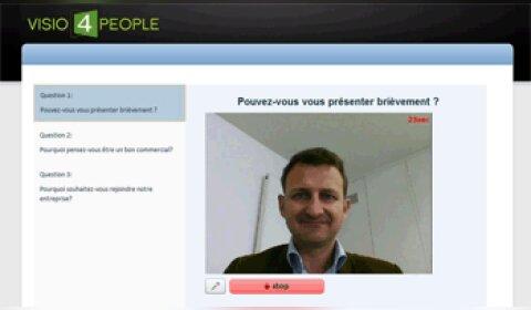 Visio4People enrichit sa plateforme avec une solution d'entretien vidéo différé