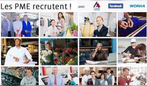 Facebook se mobilise pour faciliter le recrutement des PME