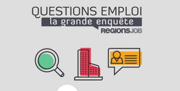 RegionsJob livre les résultats du troisième volet de son enquête sur le quotidien des recruteurs et des candidats - D.R.