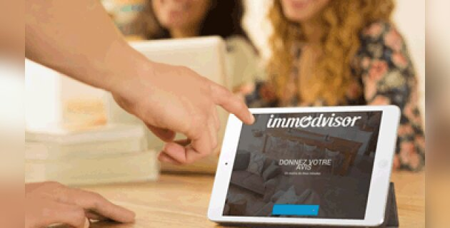 Immodvisor rend la collecte d'avis accessible sur mobile - D.R.