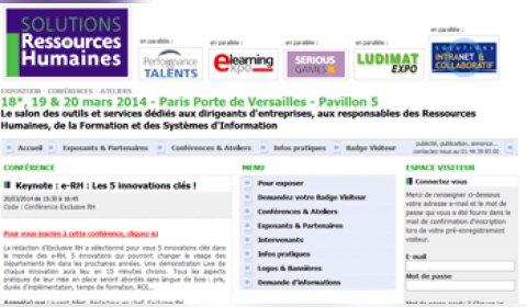 Salon Solutions RH: 7 innovations à suivre en 2014