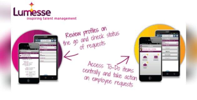 Lumesse développe sa solution de gestion des talents en version mobile - D.R.