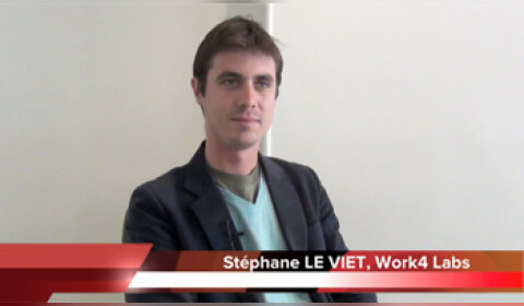 4 min 30 avec Stéphane Le Viet, CEO de Work4 Labs