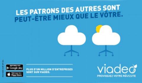 Une campagne de communication impertinente pour Viadeo !