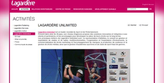 Lagardère Unlimited optimise la gestion de ses talents avec Cornerstone OnDemand - D.R.