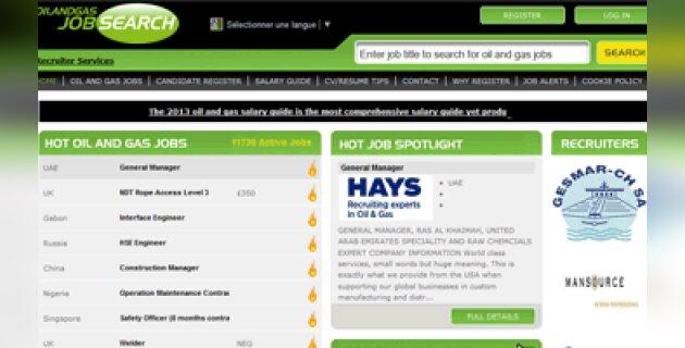 CareerBuilder a fait l'acquisition de Oil and Gas Job Search - D.R.