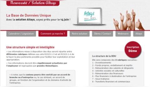 Altays lance une solution dédiée à la base de données unique