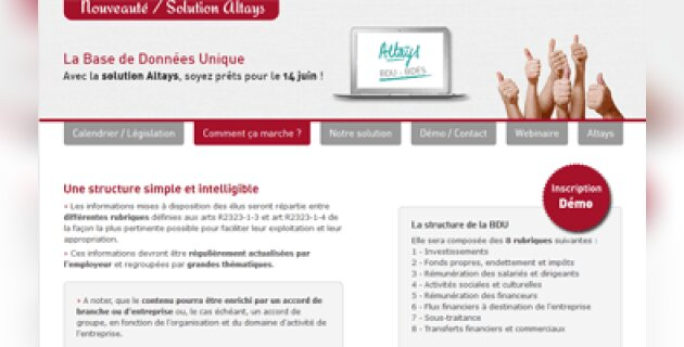 Altays lance une solution dédiée à la base de données unique - D.R.
