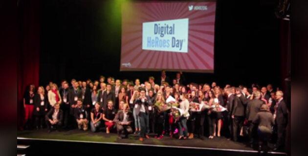Vidéo - PeopleDoc réunit 450 héros lors du Digital HeRoes Day®! - D.R.