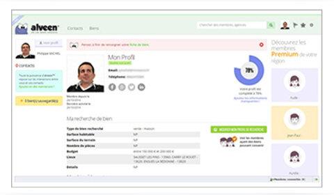 Alveen : un réseau social spécialisé dans l'immobilier
