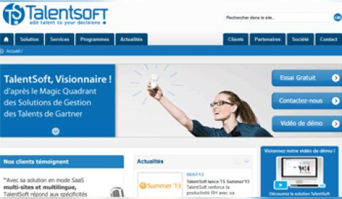 International : TalentSoft accélère