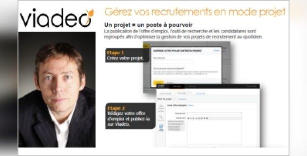 «Je ne suis pas certain que Facebook soit une menacepour nous» Olivier Fécherolle, DG France de Viadeo - D.R.
