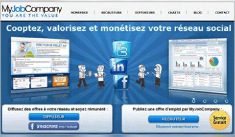 MyJobCompany lève 650000 €