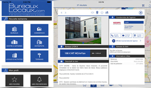 BureauxLocaux lance son application mobile
