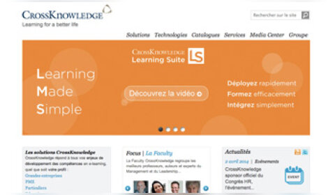 CrossKnowledge racheté pour 175 millions de dollars