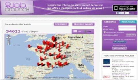 JobAroundMe: le jobboard 100% mobile lance son application
