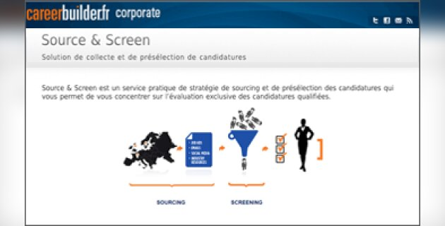 « Source&Screen externalise le sourcing à un prix modique », Jonathan Tilly, CareerBuilder France - D.R.