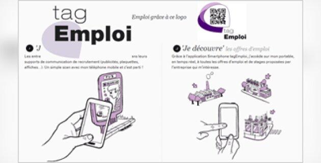 tagEmploi: une application mobile pour les recruteurs - D.R.