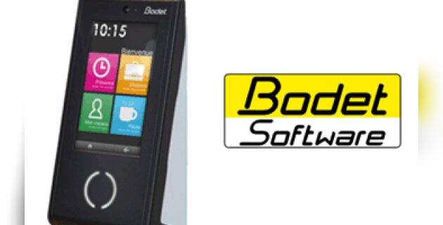 Bodet Software dévoile une badgeuse dernière génération - D.R.
