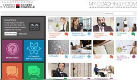 Marque employeur: la Société Générale lance MyCoachingRoom.com