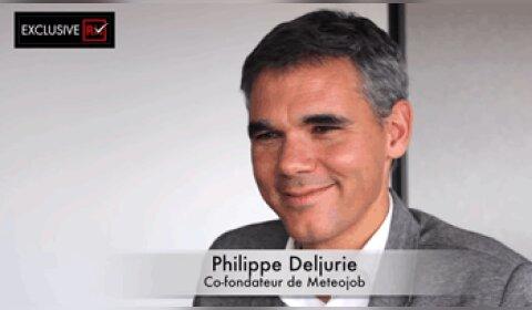 3 min avec Philippe Deljurie, Meteojob