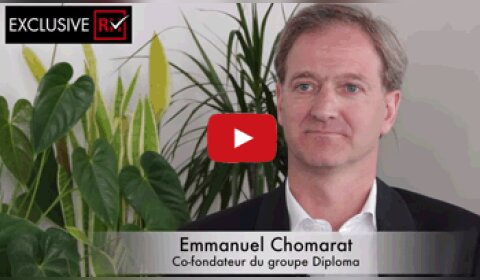 3 min avec Emmanuel Chomarat, co-fondateur du groupe Diploma