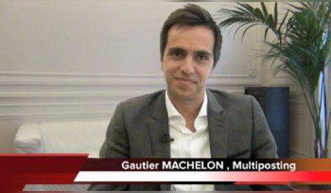 4 min 30 avec Gautier Machelon, CEO Multiposting