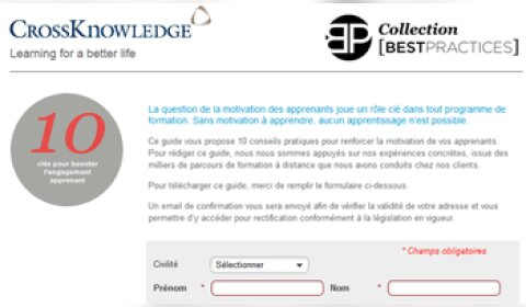 e-learning : 5 secrets pour booster l'engagement des apprenants ?
