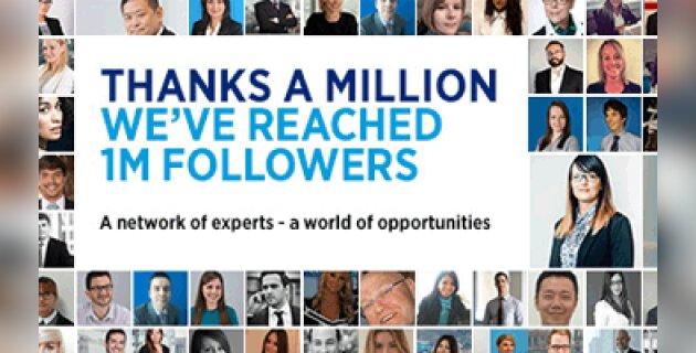Un million d'abonnés sur LinkedIn pour Hays - D.R.