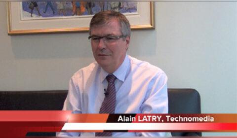 4 min 30 avec Alain Latry, CEO de Technomedia