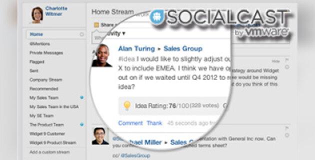 Socialcast se dote d'outils de reconnaissance - D.R.